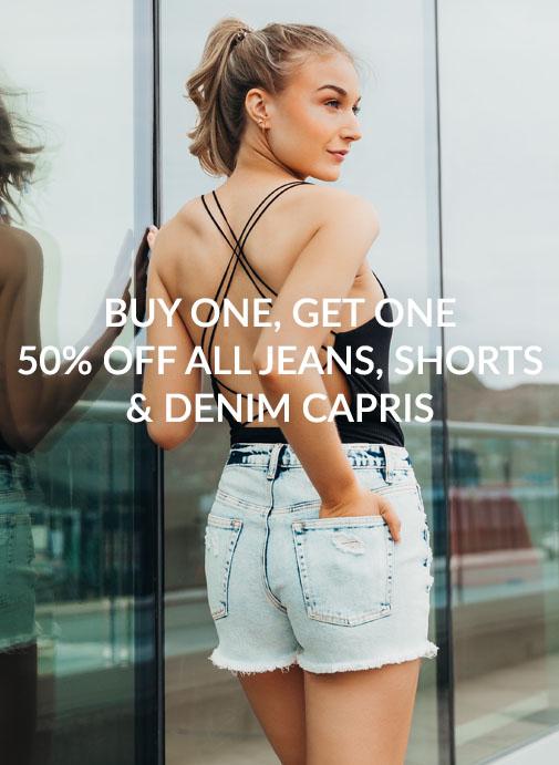 BOGO Jeans, Shorts, Denim Capris